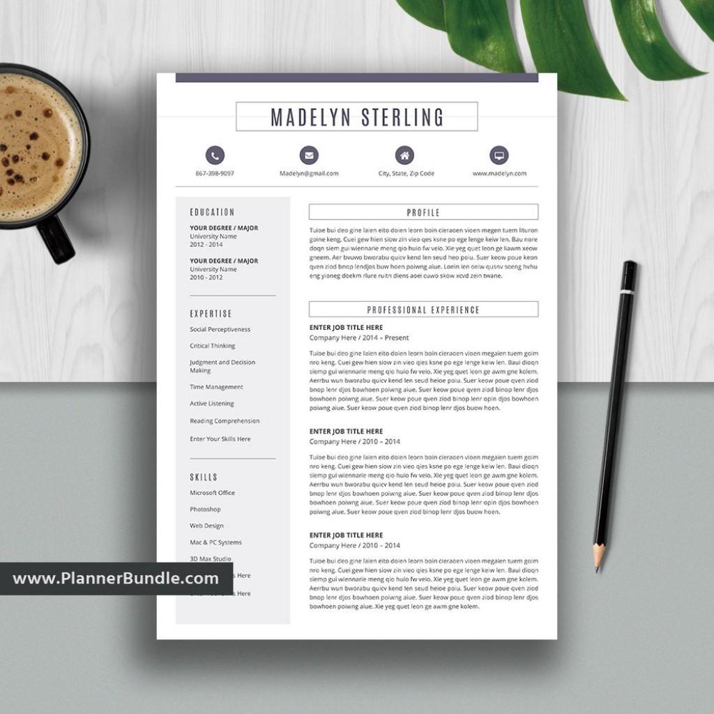 005 Unforgettable Resume Template M Word 2020 Idea  Free MicrosoftLarge