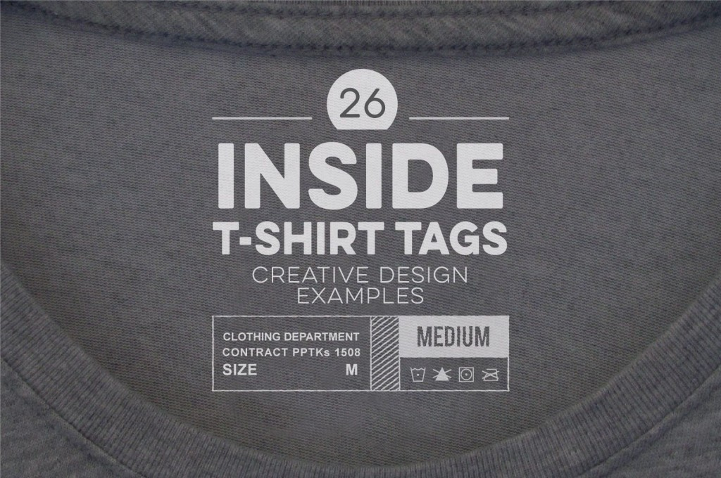 005 Unforgettable T Shirt Tag Template Highest Clarity  Neck LabelLarge
