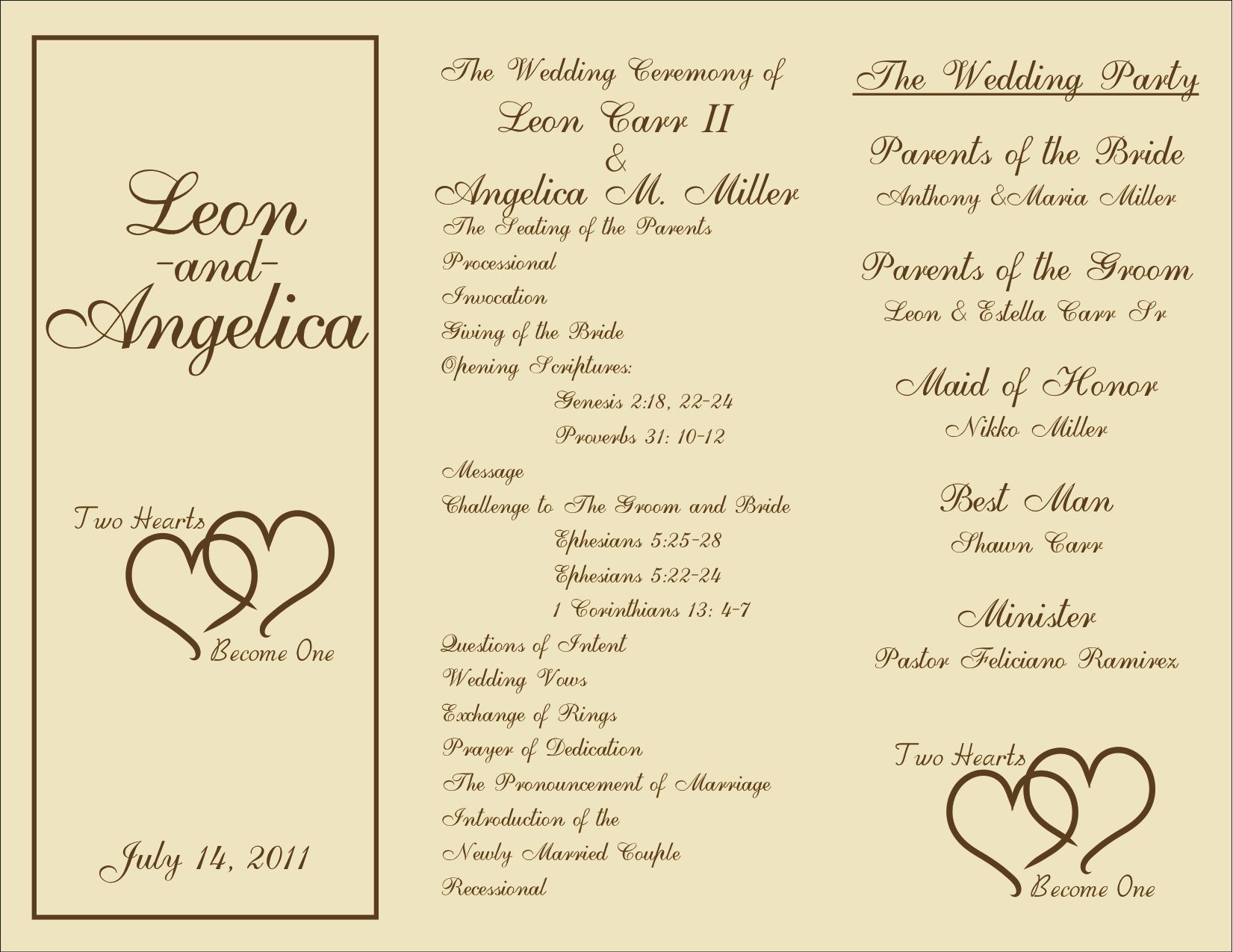 005 Unforgettable Wedding Program Template Free Download Inspiration  Downloadable Pdf Reception Microsoft Word FanFull