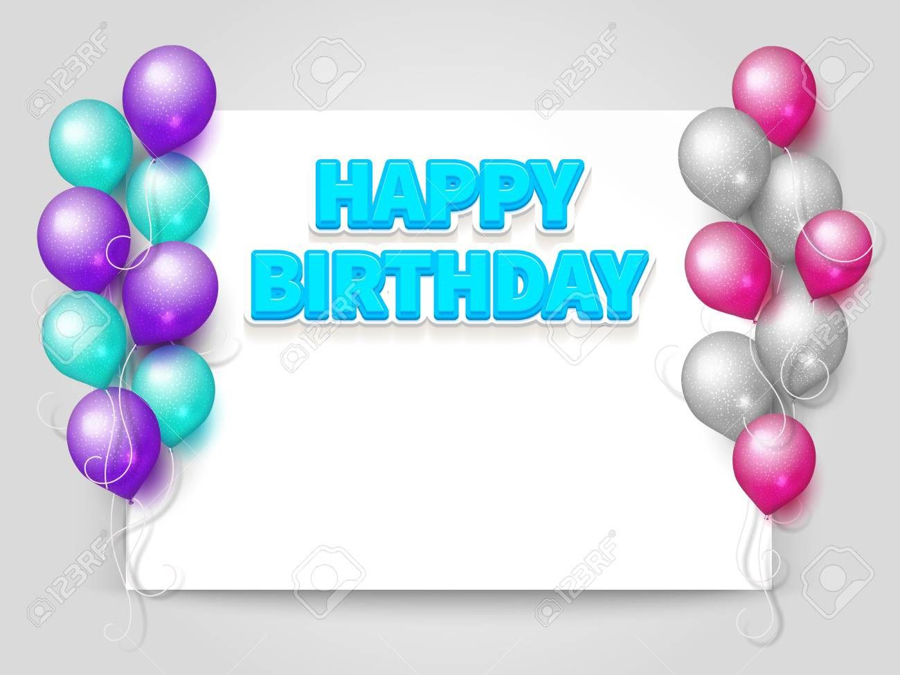 005 Unique Blank Birthday Card Template High Resolution  Word Free Printable Greeting DownloadFull
