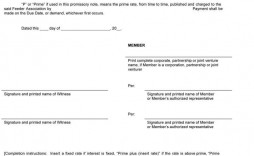 005 Unique Blank Promissory Note Template Design  Form Free Download