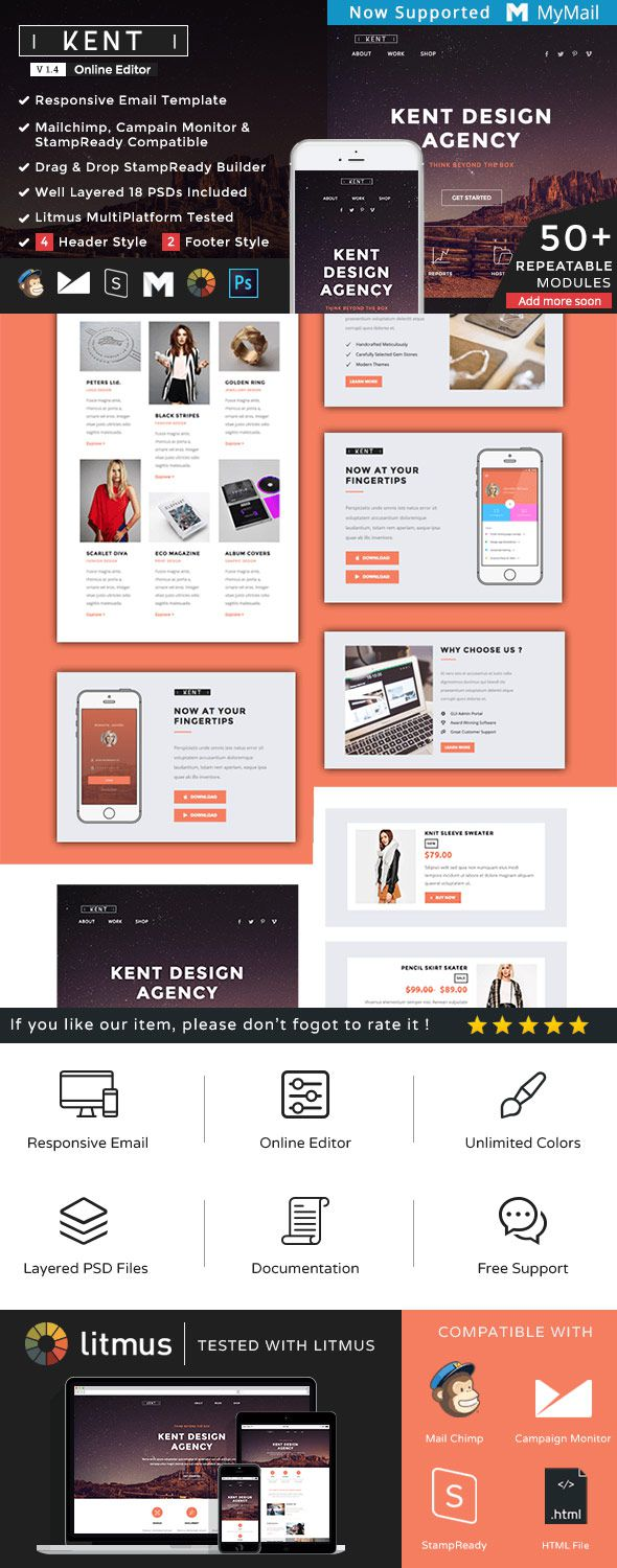 005 Unique Email Newsletter Template Free Download Highest Quality  Html BusinesFull