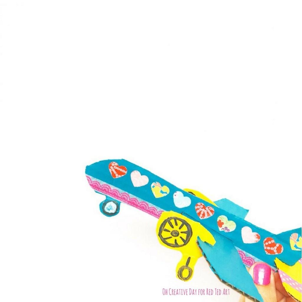 005 Unique Free Paper Airplane Design Printable Template  Designs-printable TemplatesLarge