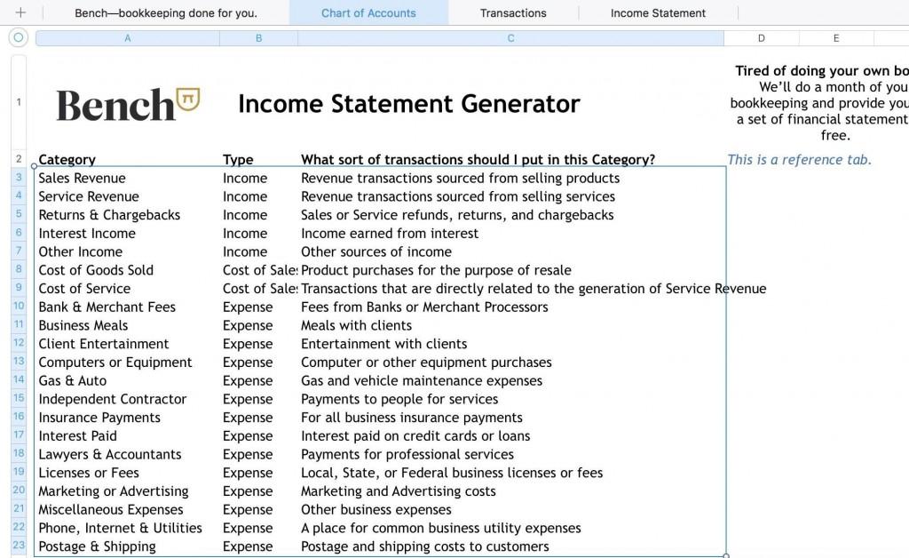 005 Unique Income Statement Format In Excel Download Idea Large