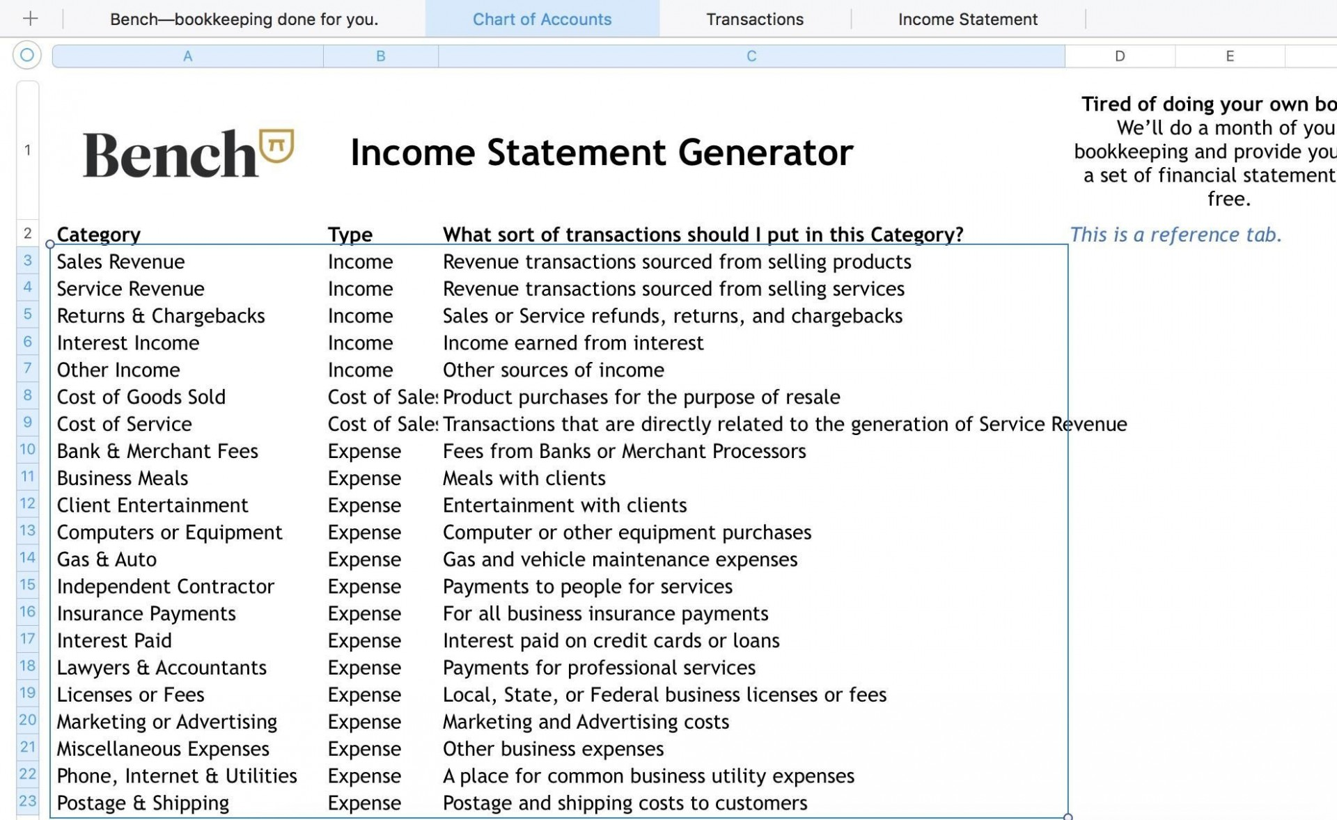 005 Unique Income Statement Format In Excel Download Idea 1920