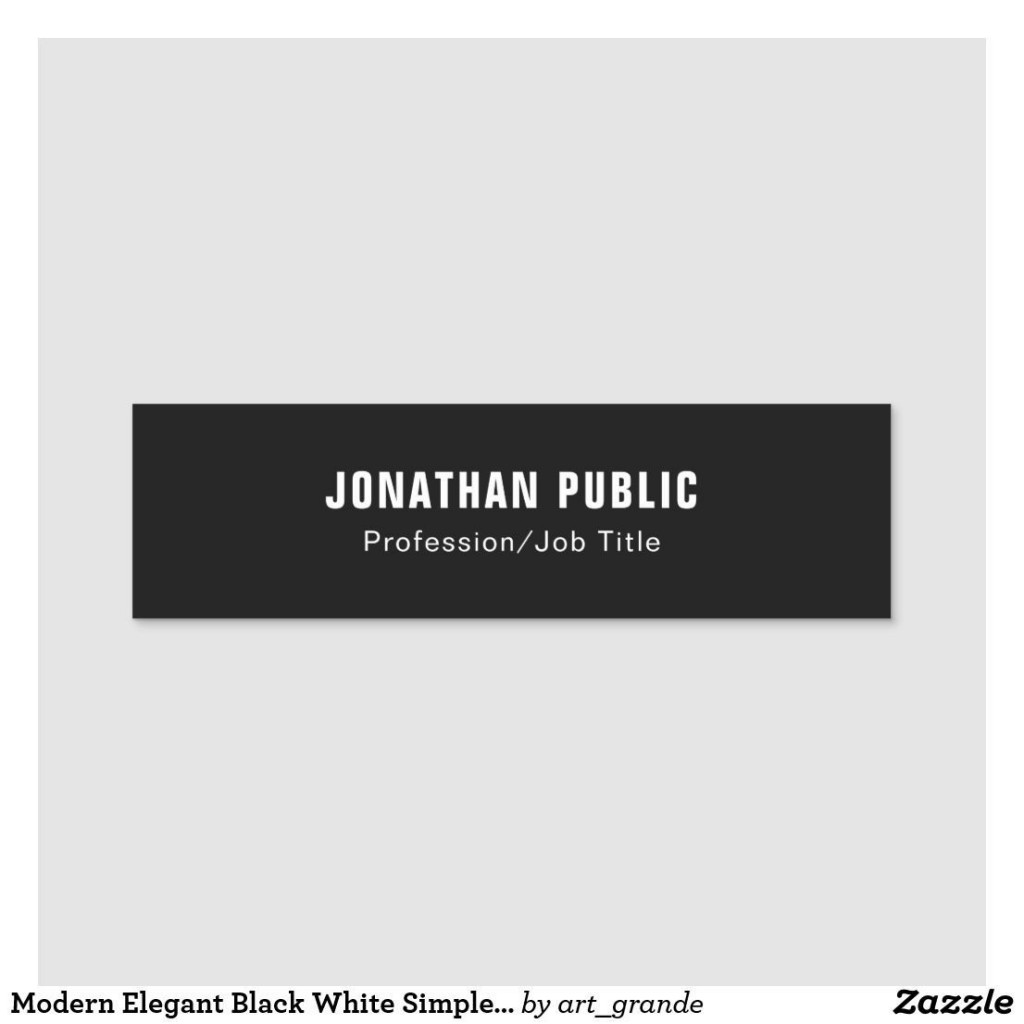 005 Unique Name Tag Design Template Photo  Free Download PsdLarge