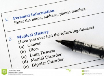 005 Unique Personal Medical History Template Download High Definition 360