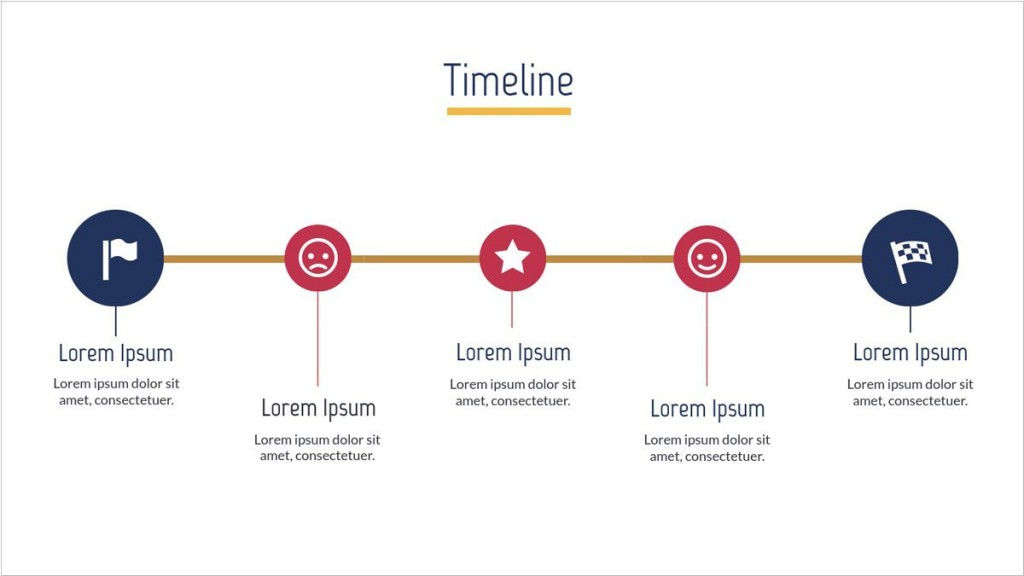 005 Unique Timeline Template For Presentation Image  Project Example PresentationgoLarge