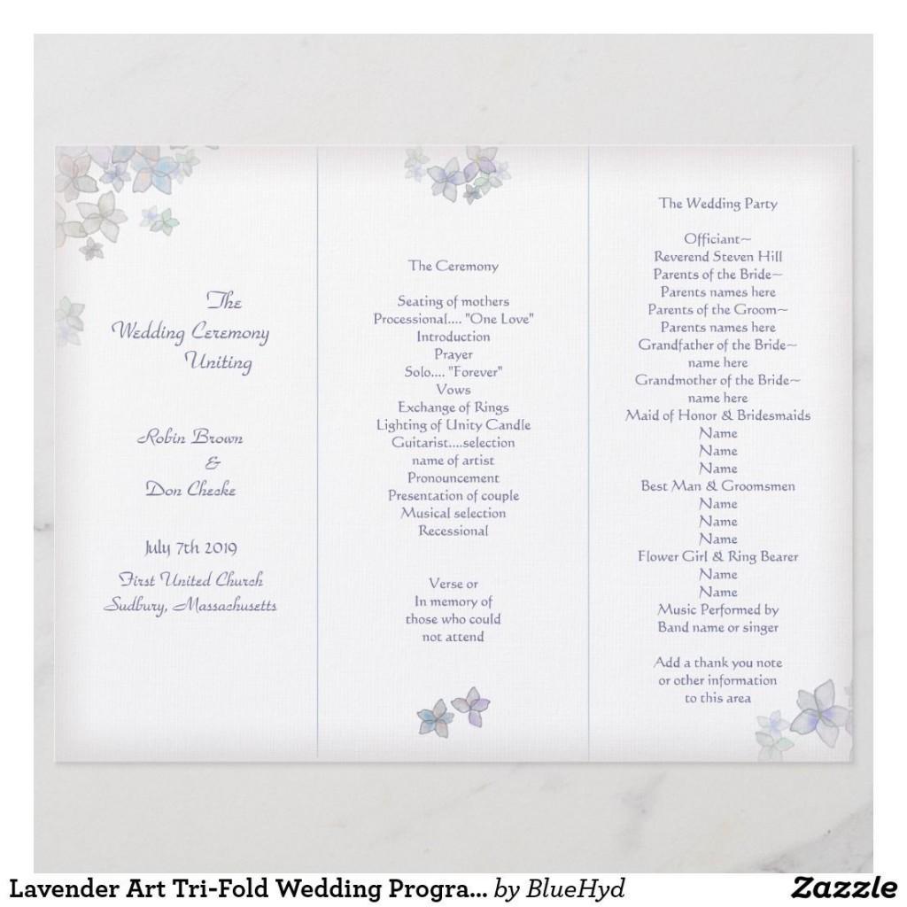 005 Unique Trifold Wedding Program Template Highest Clarity  Tri Fold Word Folded ExampleLarge