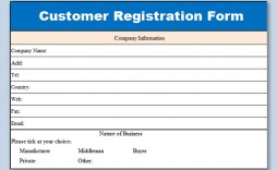 005 Unusual Busines Credit Application Form Template Excel Sample