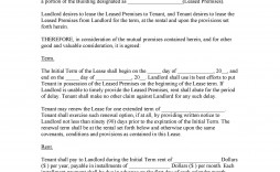 005 Unusual Flat Rental Contract Template Free Idea