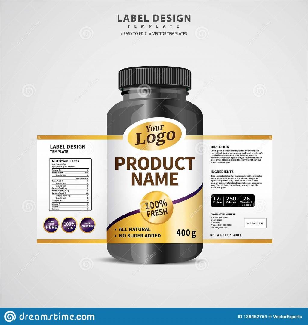005 Unusual Free Food Label Design Template Example  Templates DownloadLarge
