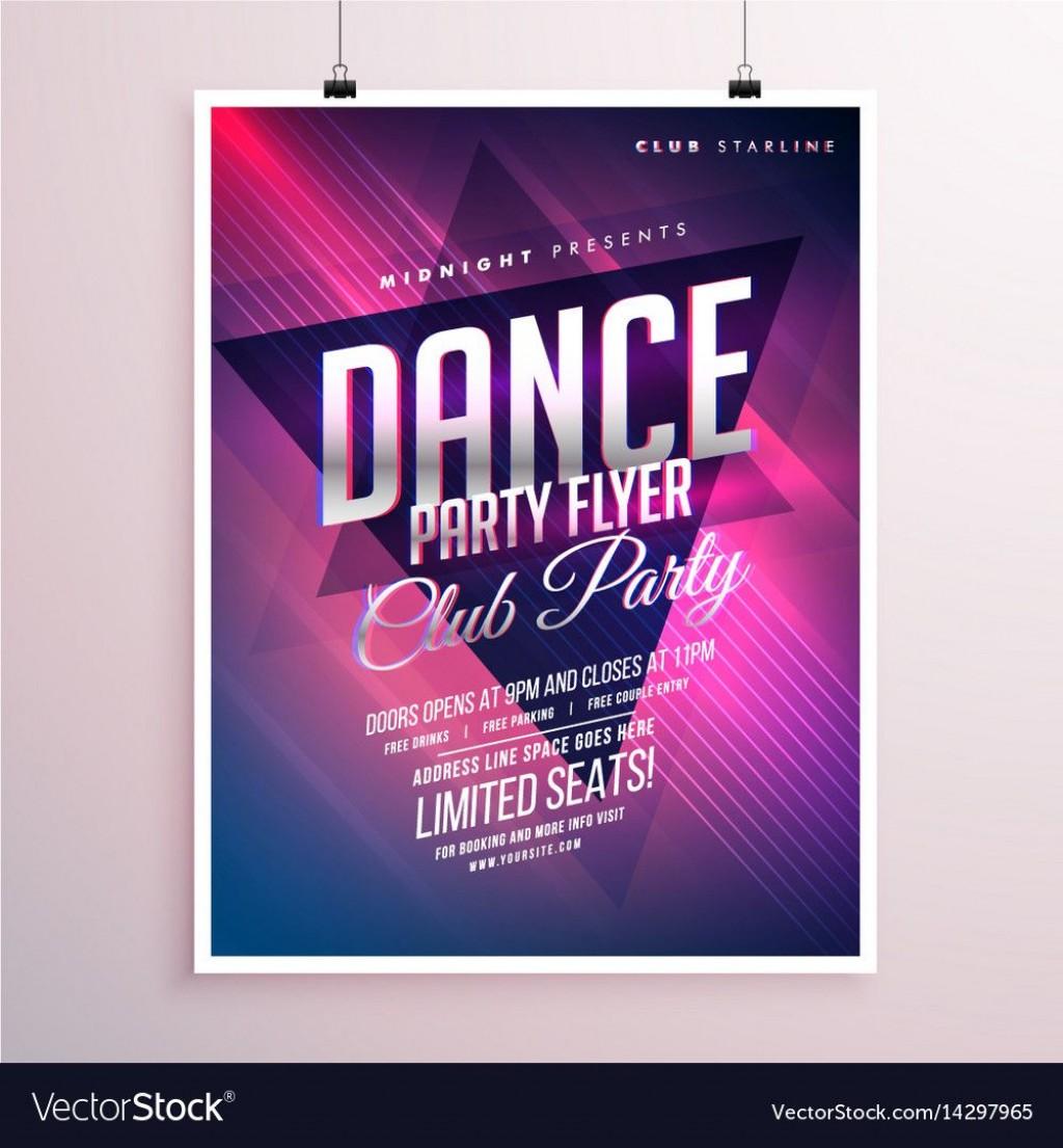 005 Unusual Free School Disco Flyer Template Inspiration  Templates PosterLarge