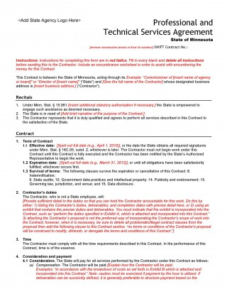 005 Unusual Free Service Contract Template Pdf Highest Clarity 320