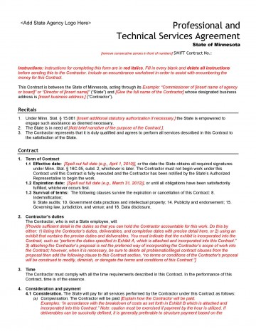 005 Unusual Free Service Contract Template Pdf Highest Clarity 360