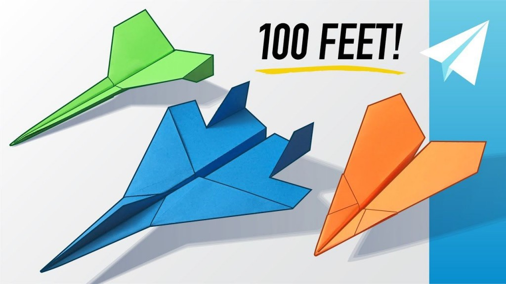 005 Unusual Paper Airplane Design Printable High Resolution  Free Instruction Pdf Simple FoldingLarge