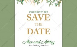 005 Unusual Save The Date Flyer Template Picture  Free Event Sample