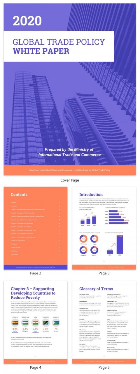 005 Unusual Technical White Paper Template Sample  Example Doc480