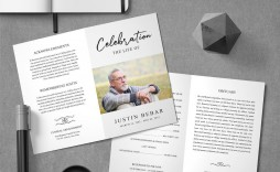 005 Unusual Template For Funeral Programme Inspiration  Sample Mas Program Word
