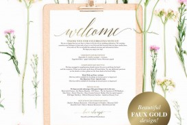 005 Unusual Wedding Hotel Welcome Letter Template Highest Clarity