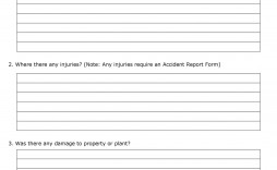 005 Unusual Workplace Incident Report Form Template Nsw High Resolution