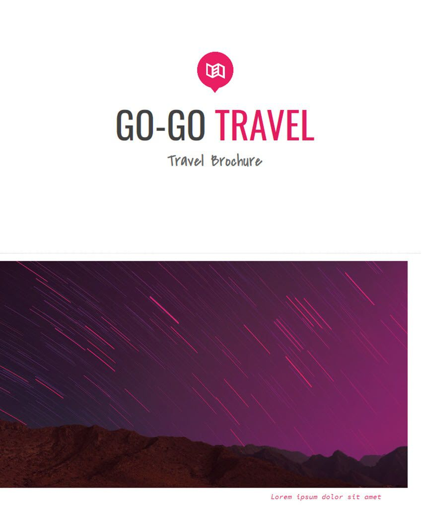 005 Wonderful Brochure Template Google Drive Photo  FreeFull