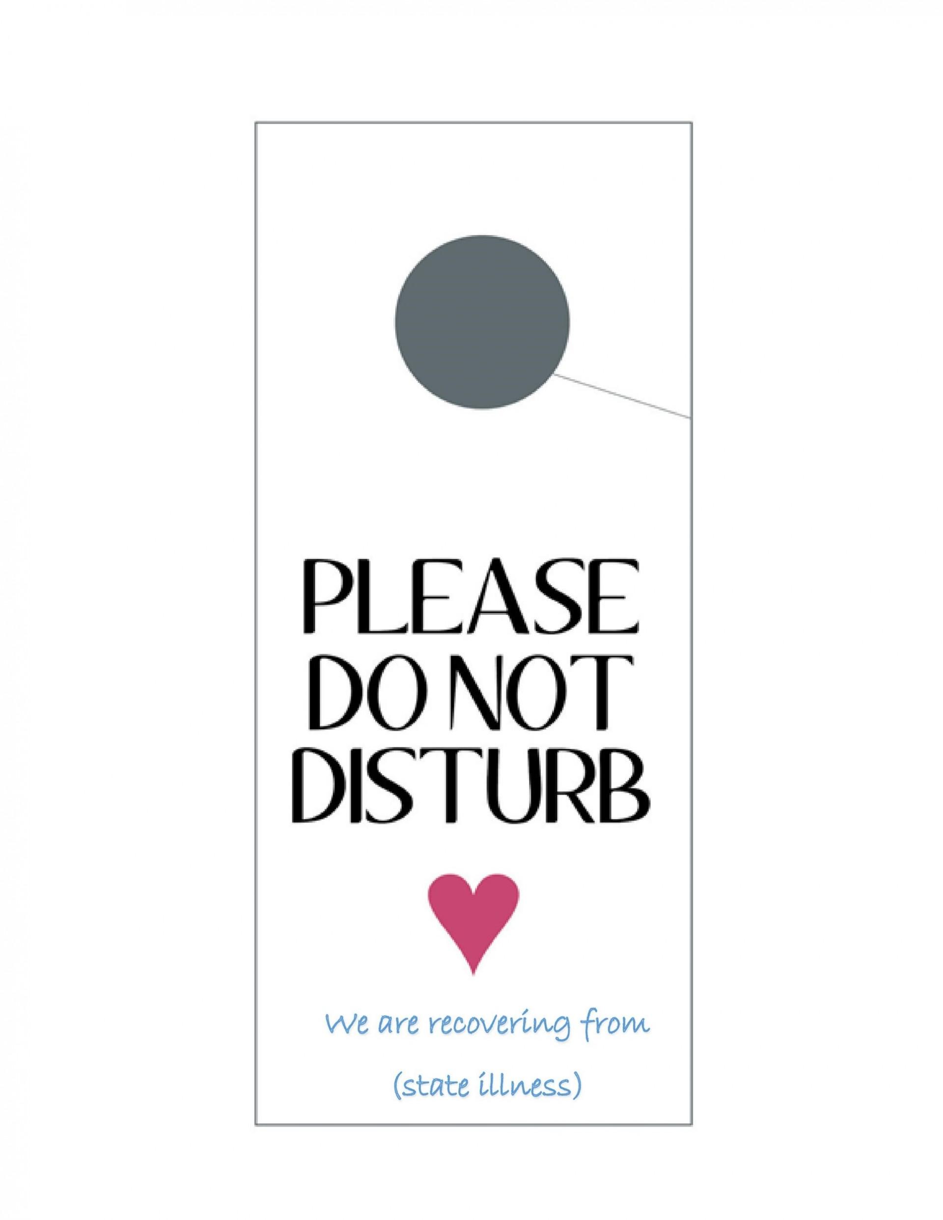 005 Wonderful Door Hanger Template For Word Inspiration  Free Microsoft1920