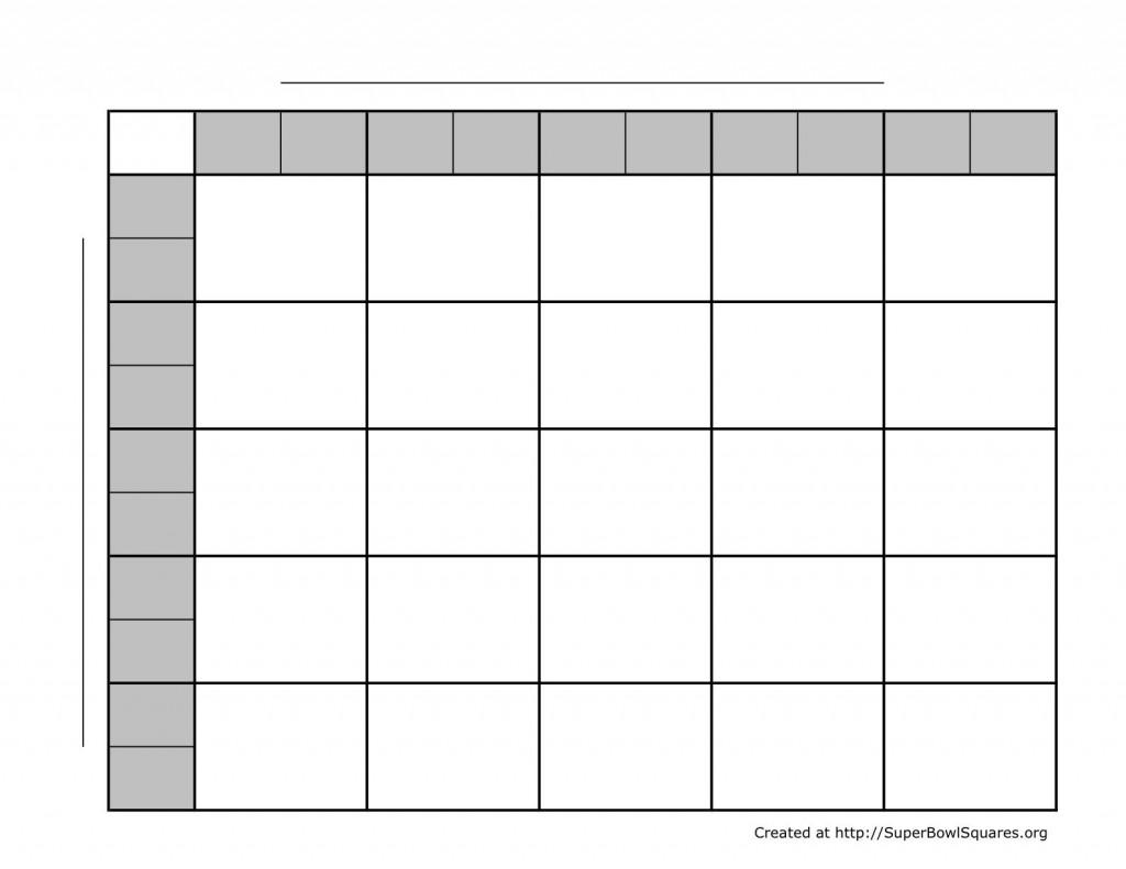 005 Wonderful Football Square Template Excel Image  Printable PoolLarge