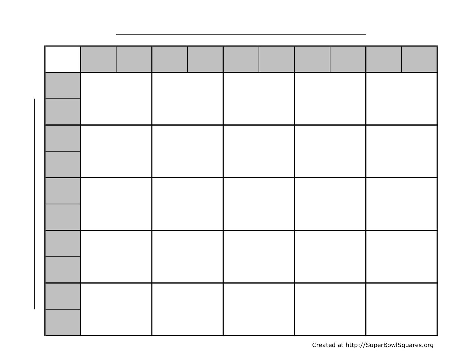 005 Wonderful Football Square Template Excel Image  Printable PoolFull