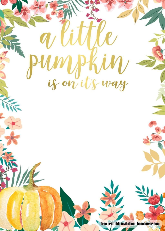005 Wonderful Free Fall Invitation Template Printable Photo  Wedding For Mac Sunflower BurgundyLarge