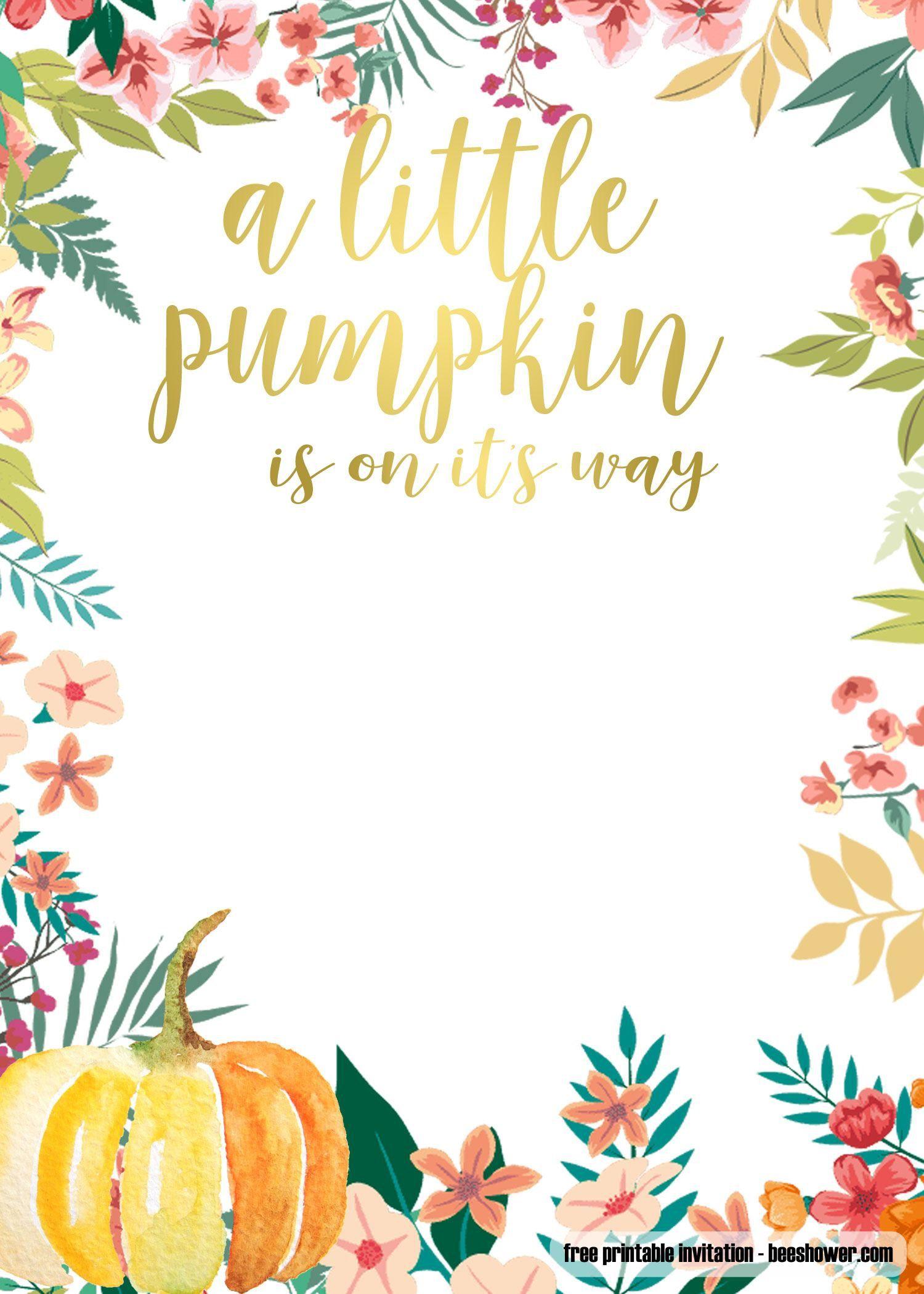 005 Wonderful Free Fall Invitation Template Printable Photo  Wedding For Mac Sunflower BurgundyFull