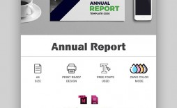 005 Wonderful Free Indesign Annual Report Template Download Highest Quality