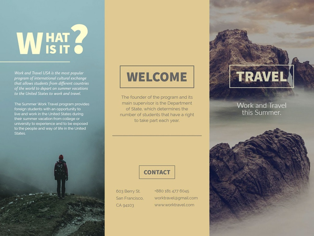 005 Wonderful Free Online Brochure Template Design  Templates Download Microsoft Word Real EstateFull