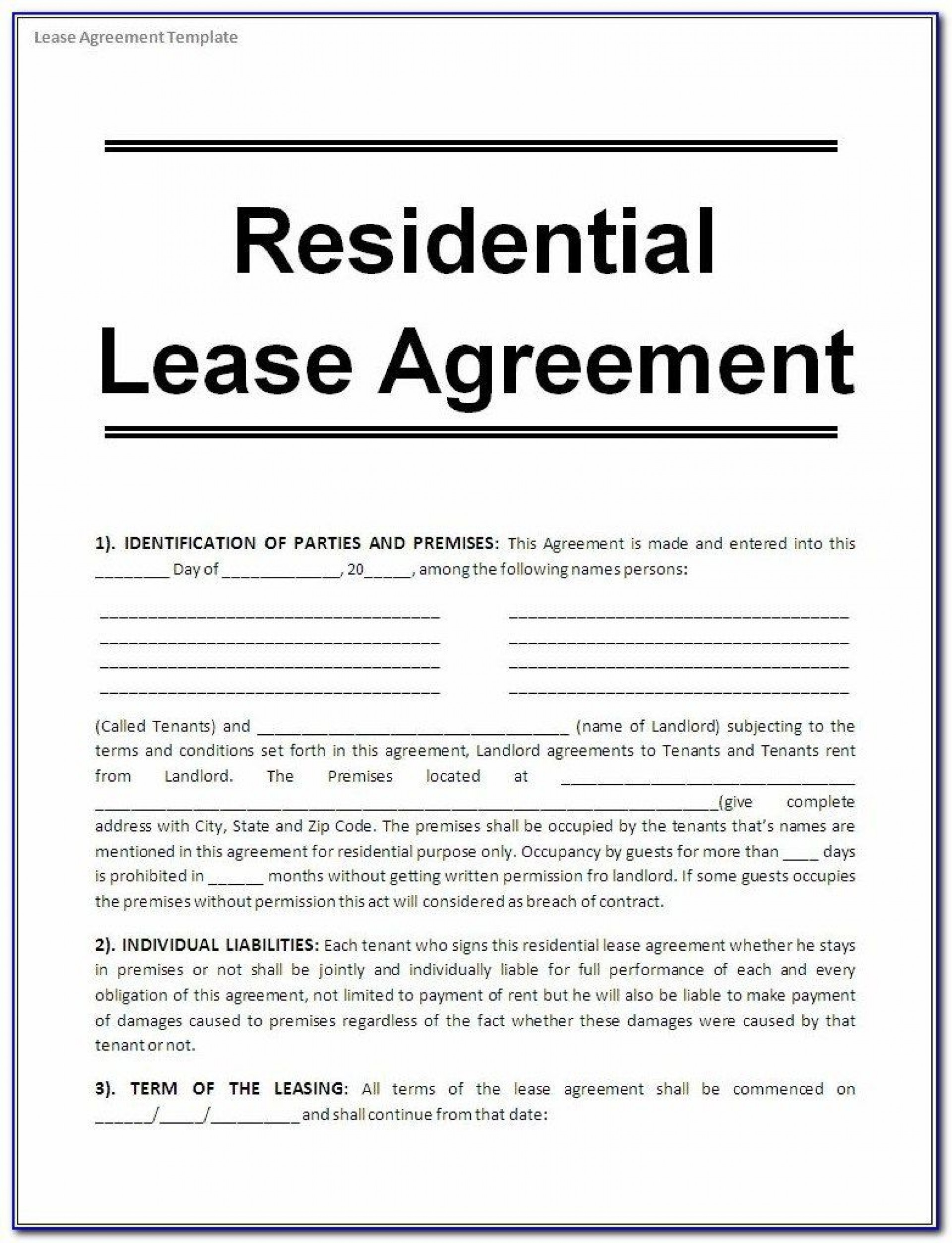 005 Wonderful Lease Agreement Template Word South Africa Photo  Free Simple Residential Commercial Document1920