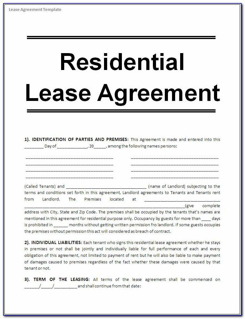 005 Wonderful Lease Agreement Template Word South Africa Photo  Free Simple Residential Commercial DocumentFull