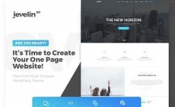 005 Wonderful One Page Website Template Free Download Wordpres High Resolution  Wordpress