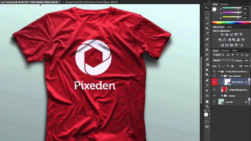005 Wonderful T Shirt Design Template Psd Inspiration  Photoshop Free V Neck T-shirt Blank