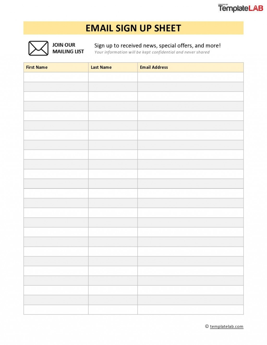 005 Wonderful Visitor Sign In Sheet Template Printable Concept  FreeLarge