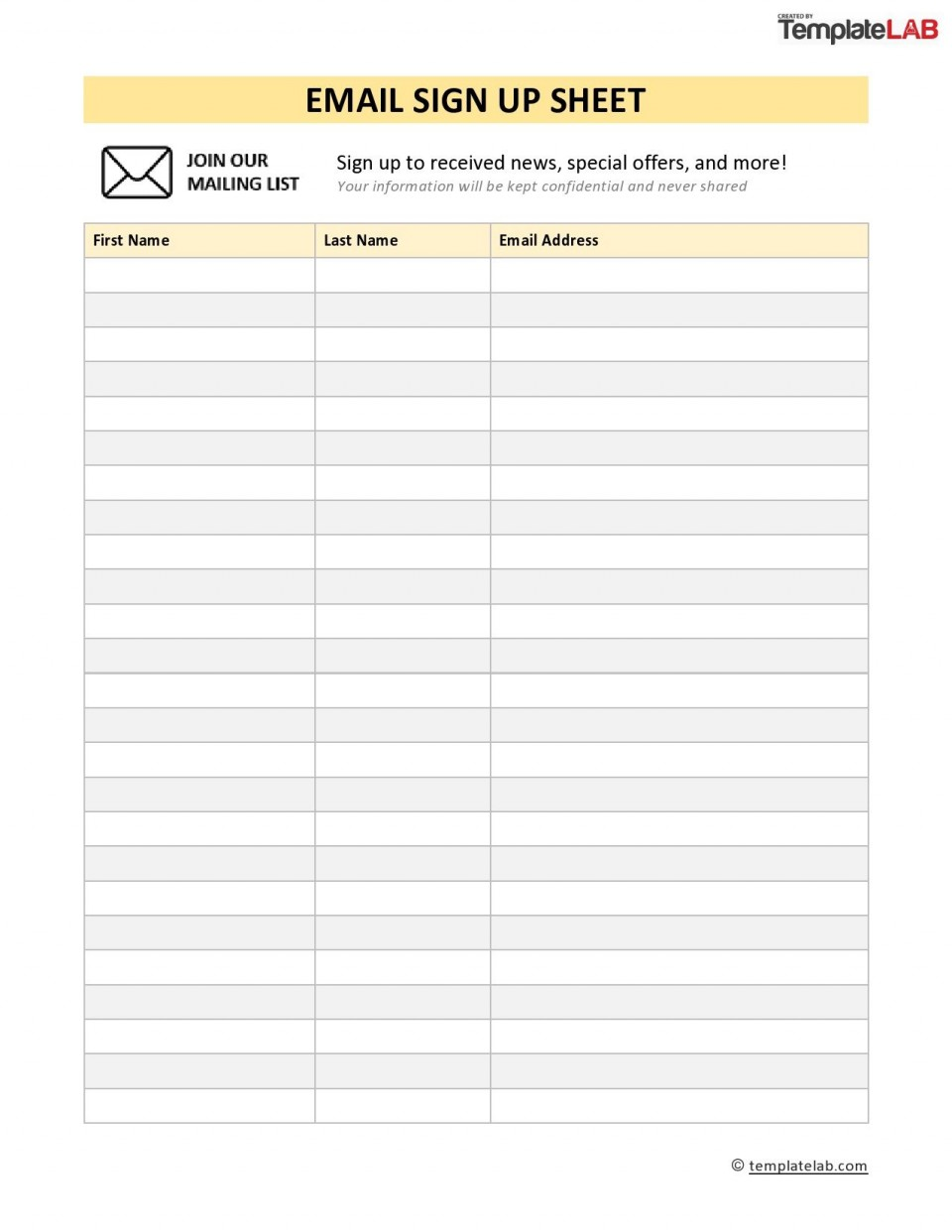 005 Wonderful Visitor Sign In Sheet Template Printable Concept  Free960