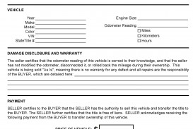 005 Wondrou Automotive Bill Of Sale Template Highest Quality  Vehicle Word Free Pdf