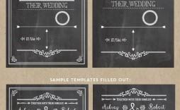 005 Wondrou Chalkboard Invitation Template Free Picture  Birthday Download