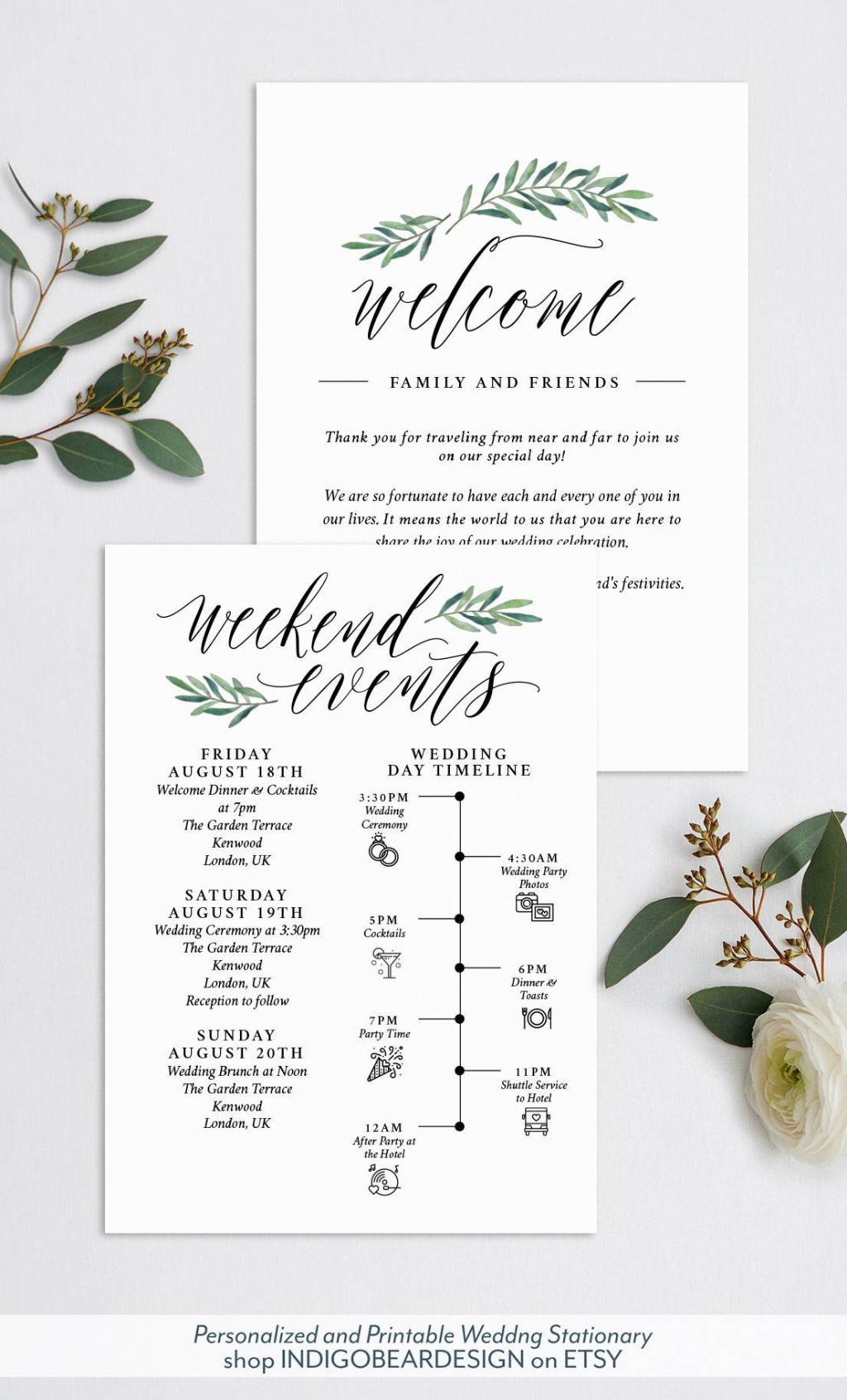 005 Wondrou Destination Wedding Welcome Letter And Itinerary Template High Resolution Large