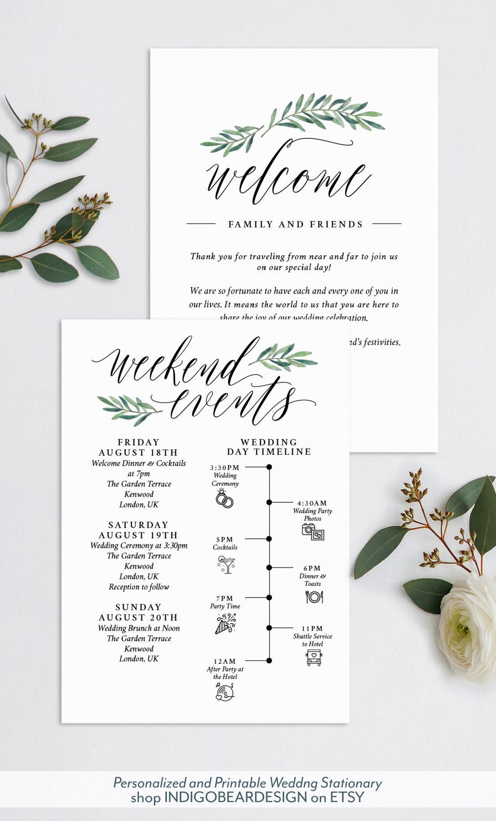 005 Wondrou Destination Wedding Welcome Letter And Itinerary Template High Resolution 1920