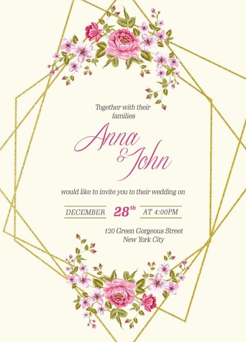 005 Wondrou Download Free Wedding Invitation Card Template Concept  Marriage Format Psd480