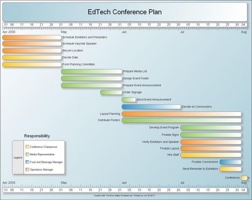 005 Wondrou Event Planning Timeline Template Idea  Free Excel