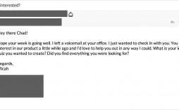 005 Wondrou Follow Up Email Template After No Response Picture