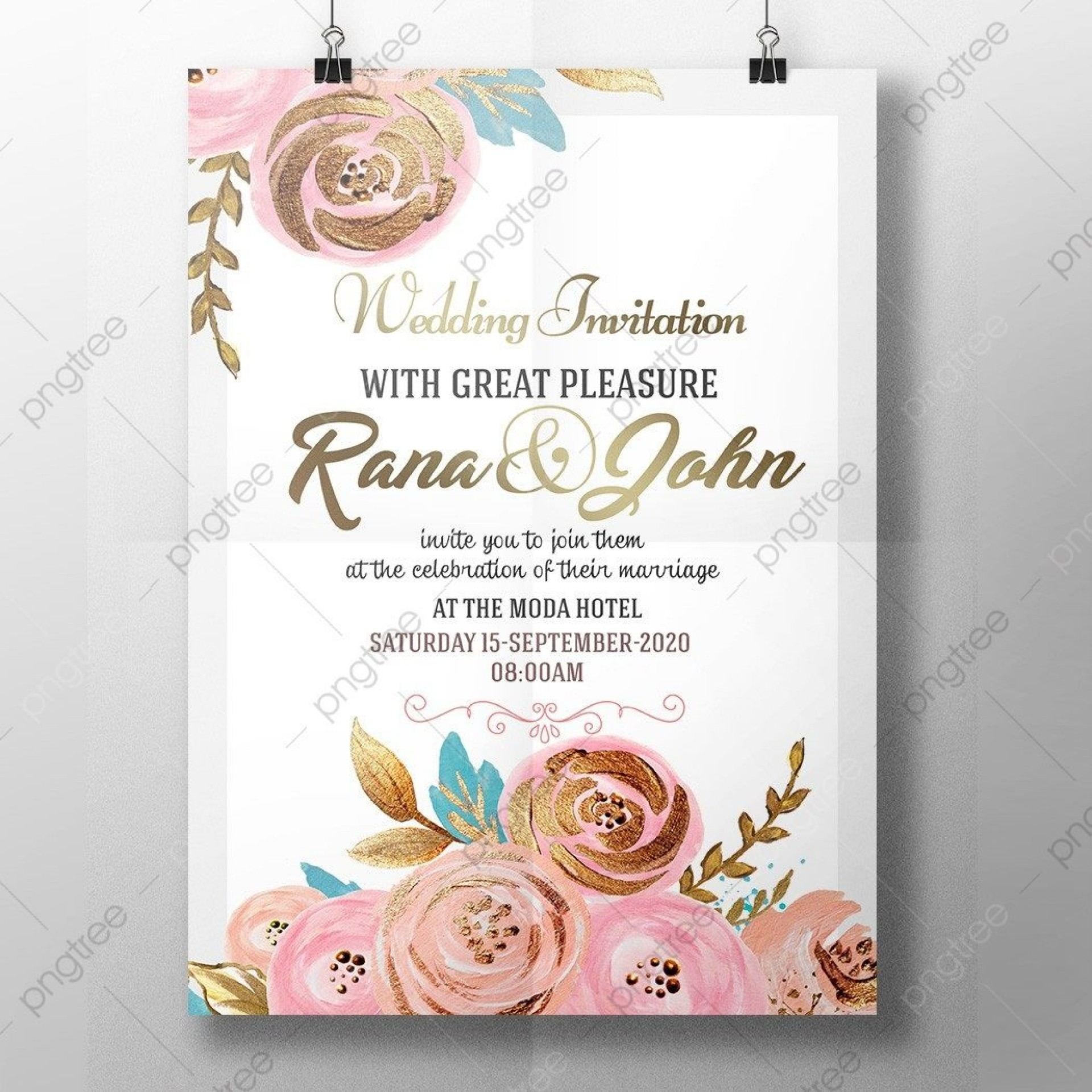 005 Wondrou Free Download Marriage Invitation Template High Definition  Card Design Psd After Effect1920