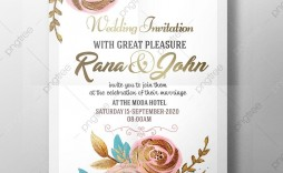 005 Wondrou Free Download Marriage Invitation Template High Definition  Templates Design After Effect Card Psd