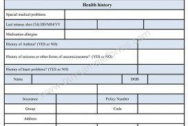 005 Wondrou Free Printable Medical Consent Form Template Concept