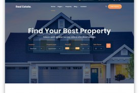 005 Wondrou Free Real Estate Template Example  Website Download Bootstrap 4
